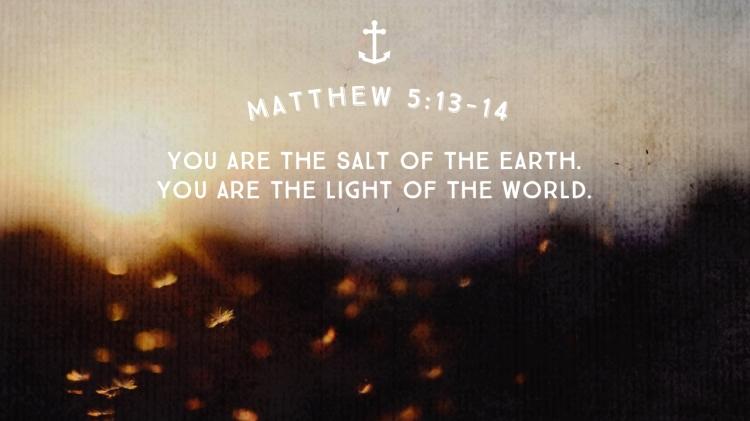 Sermon 2 - Salt and light