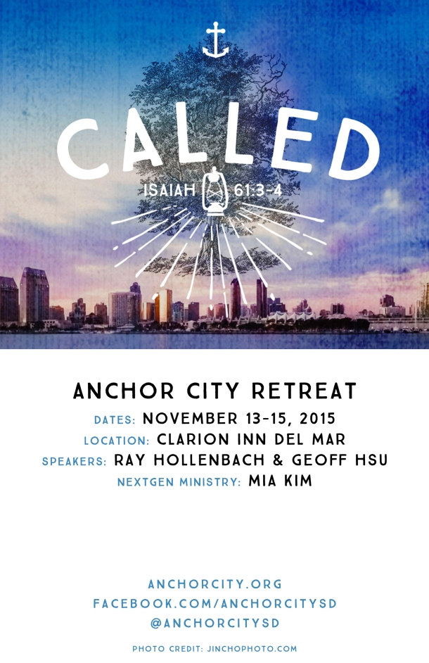 Anchor City 2015 Retreat Graphic