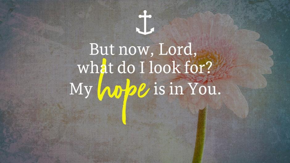 Chapel Time - hope