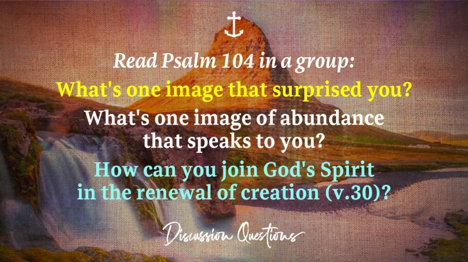 Sermon 6 - Discussion Qs